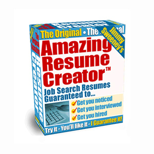 Amazing Resume Creator